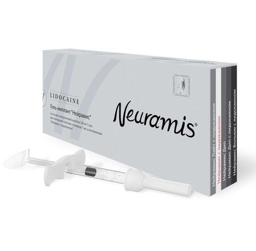 Neuramis Lidocaine филлеры из Южной Кореи
