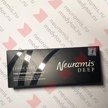 Нейрамис Дип Лидокаин   Neuramis Deep Lidocaine упаковка фронт