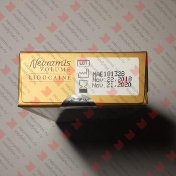 Нейрамис Вольюм Лидокаин   Neuramis Lidocaine Volume упаковка верх