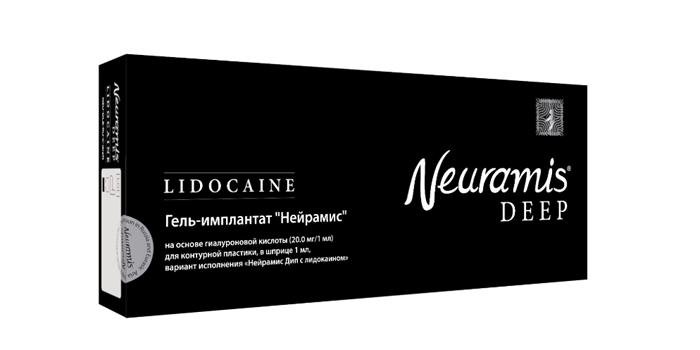 упаковка сертифицированных гелей-имплантатов НЕЙРАМИС NEURAMIS ®